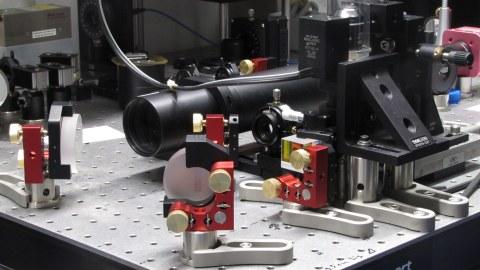 Interferometric Scattering Microscope (iSCAT)