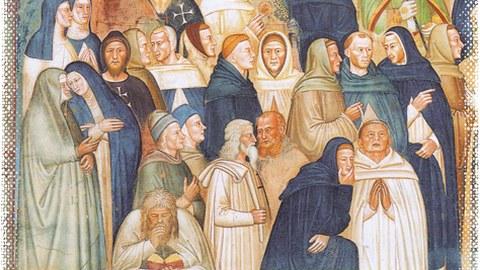Andrea Buonaiuto, La Chiesa militante e trionfante