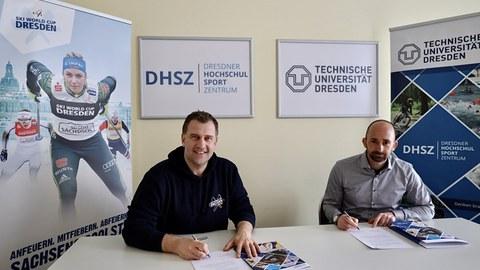 Unterzeichnung Kooperation FIS Skiweltcup