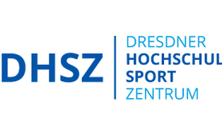 Logo des Dresdner Hochschulsportzentrums in blau