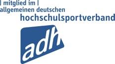 Textgrafik Mitglied im Allgemeinen Deutschen Hochschulsportverband