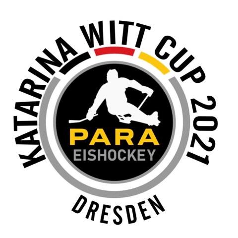 Grafik Logo des Katarina-Witt-Cup im Para-Eishockey