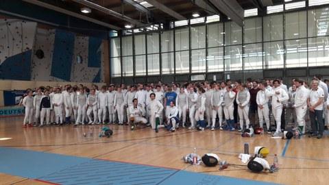 DHM Fechten 2019 - Starterfeld Samstag