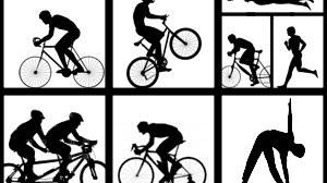 Piktogramme der Sportarten