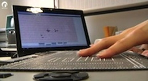 Hyperbraille - grafikfähiges Display für Blinde