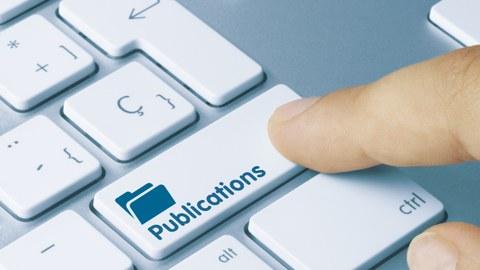 Tastatur mit Wort Publications