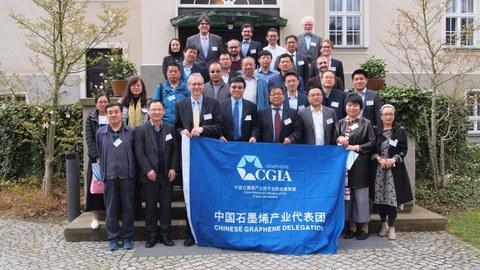 Chinese Graphene Delegation
