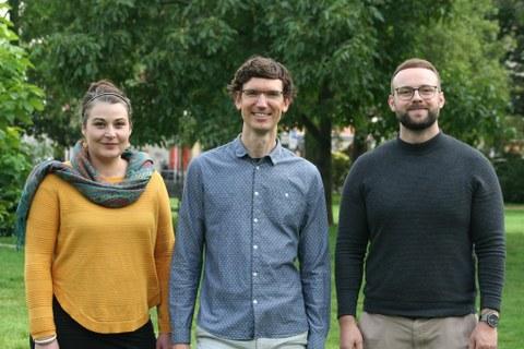das Team von Open Physio im Park