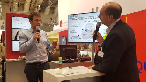 CHES at the Hannover fair