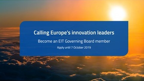 EIT Governing Board 2019