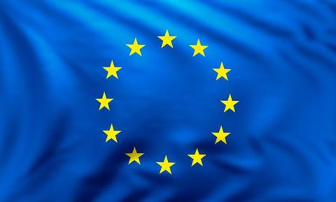 EU-Flagge-blau