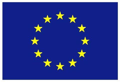 EU Flag coloured