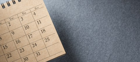 part of calendar
