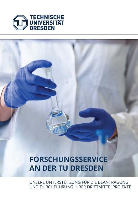 Broschüre: Forschungsservice an der TU Dresden