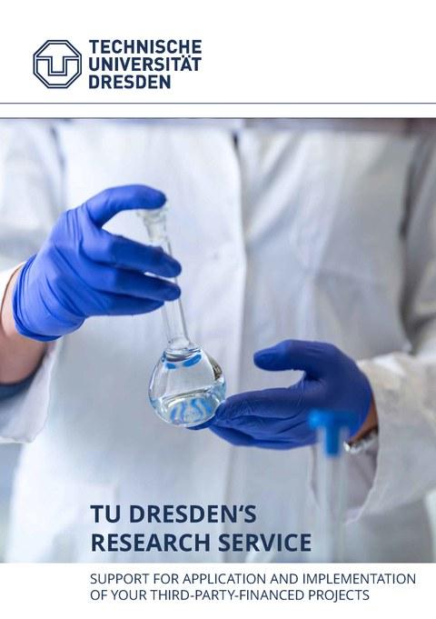 Brochure: TU Dresden's Research Service