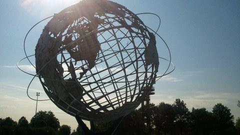 Weltkugel Corona Park NYC