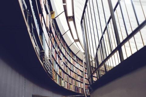 Bibliothek innen