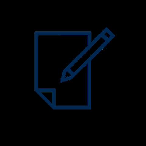 TUD Icon Einschreiben