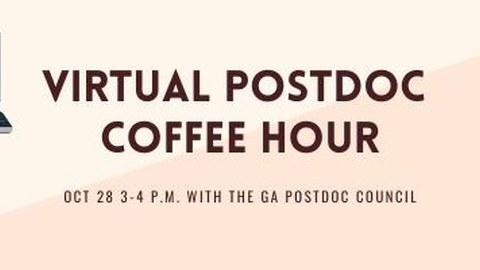 Postdoc Coffee Hour | 28.10.21