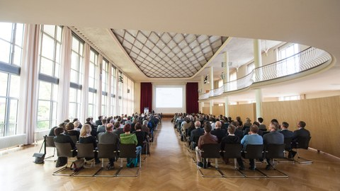 Eröffnung der Graduiertenakademie im Dülfersaal