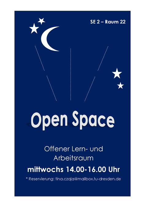 Plakat Open Space