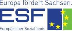 Logo Europa fördert Sachsen