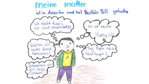 Lesetagebuch Meine Mutter Scan