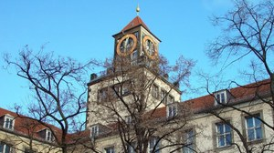Gebäude am Weberplatz, Turm