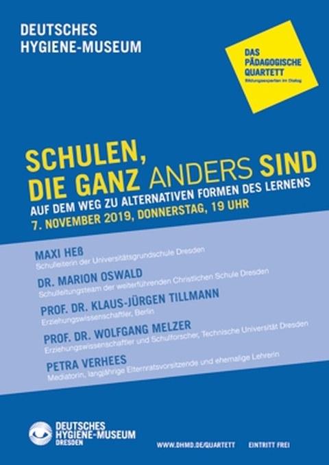 Pädagogisches Quartett November 2019