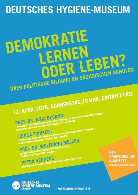 Demokratie lernen oder leben?