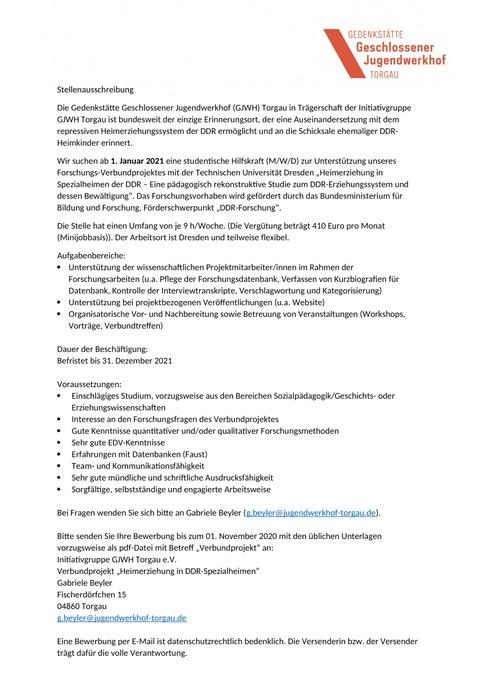 SHK_Verbundprojekt_Torgau