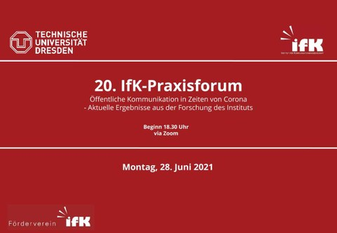 Teaser 20. Praxisforum