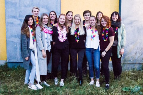 Gruppenfoto Studienenden Initiative