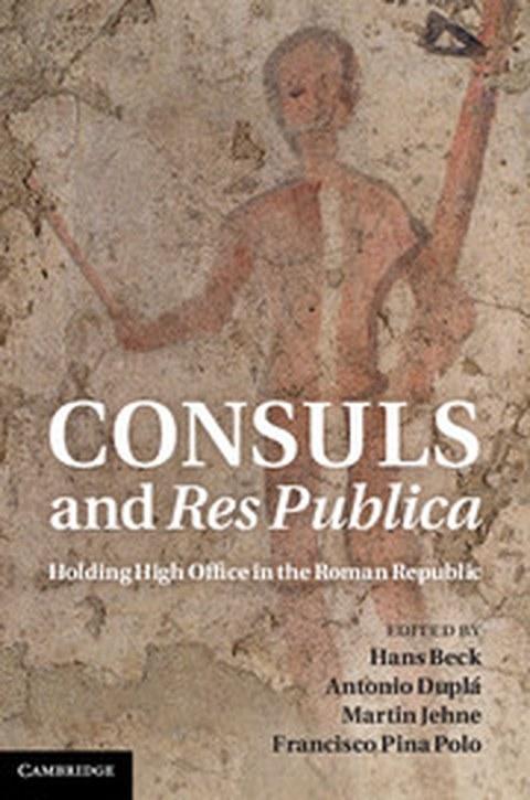 "Buchcover zum Sammelband ""Consuls and Res Publica"", Cambridge 2011."
