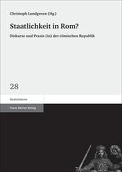 Buchcover zu Lundgreen: Staatlichkeit in Rom, Stuttgart 2014.