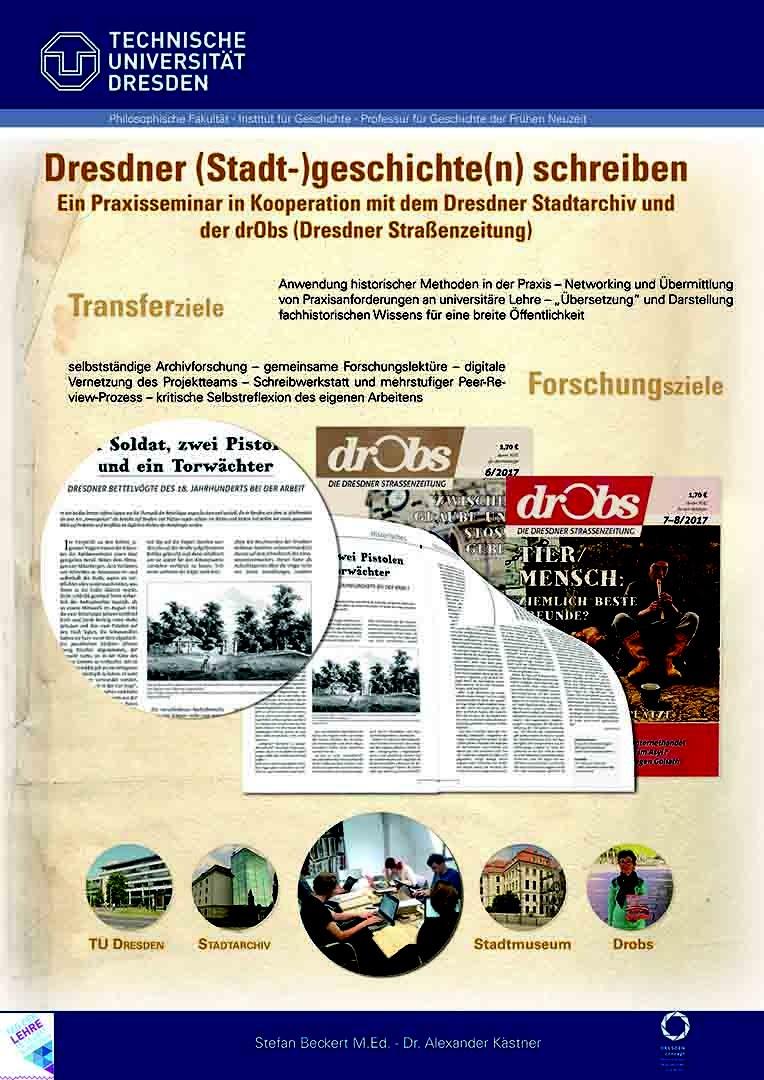 Drobs Schreiben Für Die Dresdner Straßenzeitung Professur Für