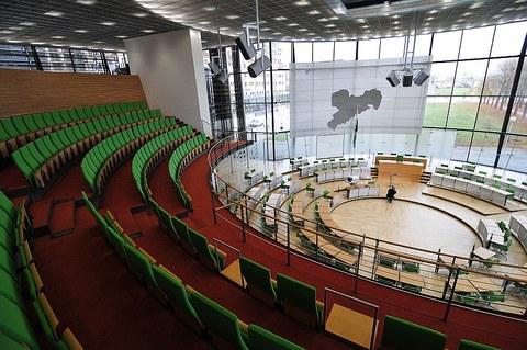 Sächsischer Landtag Plenarsaal