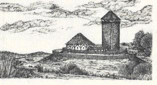 Burg Nennewitz, Lebensbild um 1240