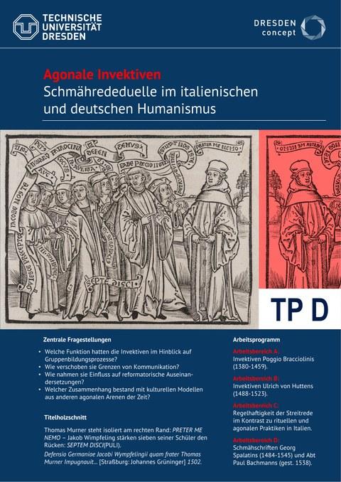 Titelblatt des Teilprojektes D
