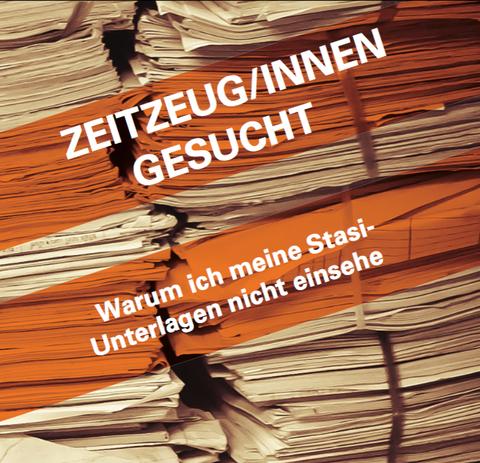 Stasi und Nicht-Wissen
