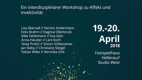 Workshop in Hellerau: Affekt/ion