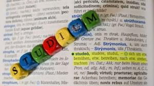 Lateinwörterbuch Ausschnitt studio