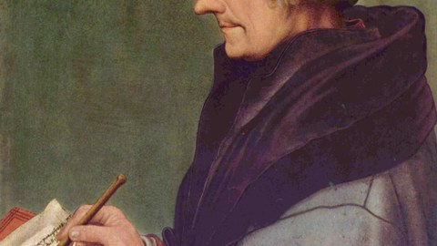 Porträt Erasmus von Rotterdam