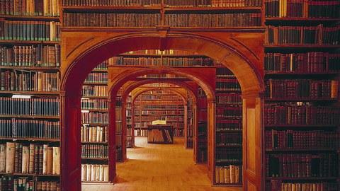 Historischer Bibliothekssaal in Görlitz