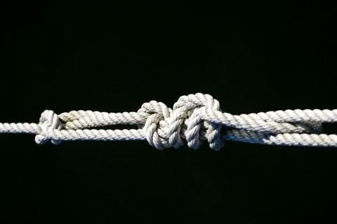 Ein metaphorisch gemeinter Knoten