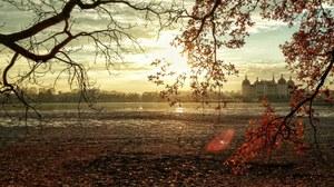 Schloss Moritzburg mit Landschaft