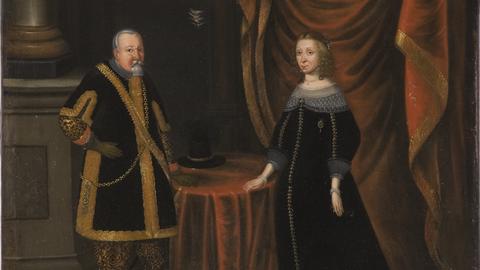 Kurfürst Johann Georg I. von Sachsen und Magdalena Sibylle von Preußen