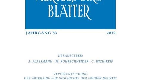 Rheinische Vierteljahresblätter