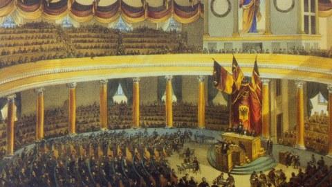 Saal der Deutschen Naionalversammlung