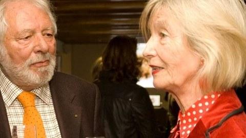 Wolfram und Barbara Siebeck in Dresden 4.11.2013